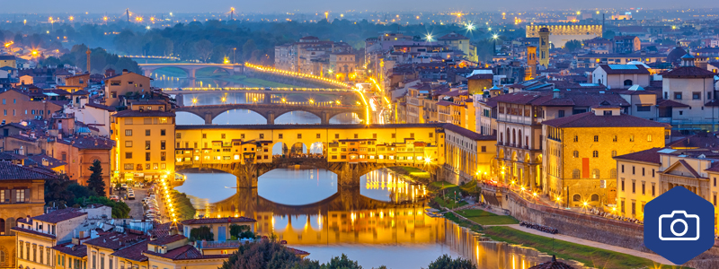 The Arno in Italy