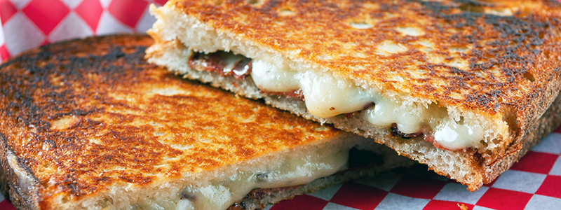 Pair a cheddar grilled cheese with Riesling