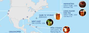 The Birthplaces Of Famous Cocktails