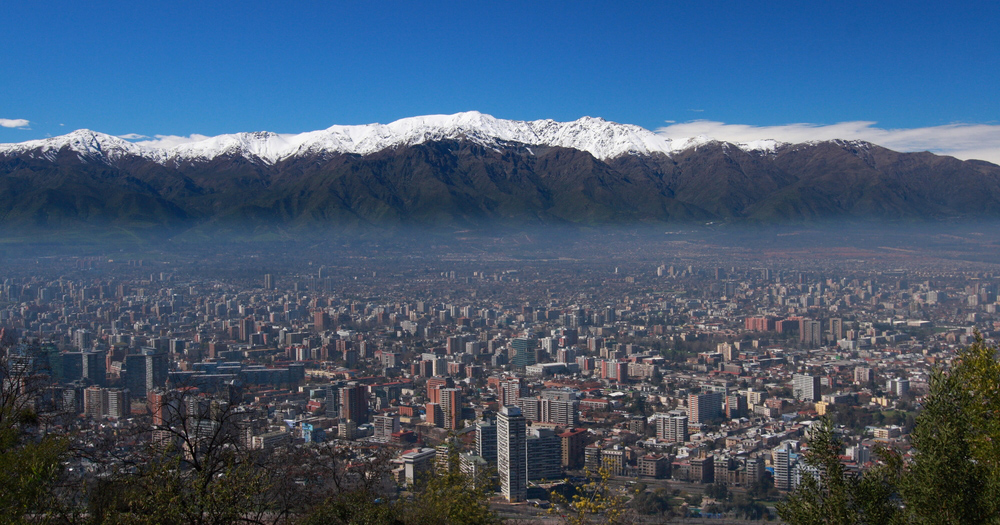 Santiago, the capital of Chile