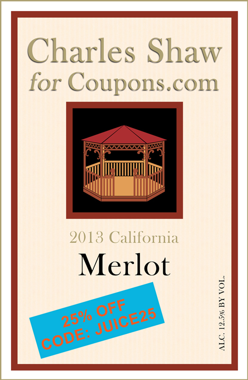 Coupons-dot-com As A Wine Label