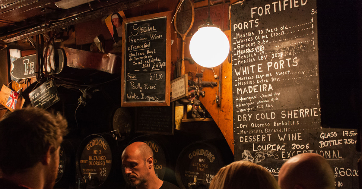 5 Of The World's Oldest Wine Bars