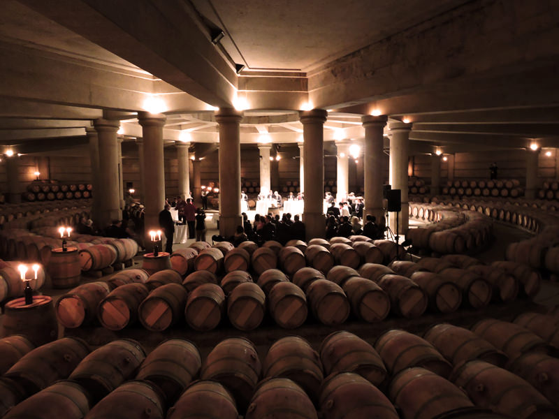 The Wine Cellar At Chateau Lafite Rothschild