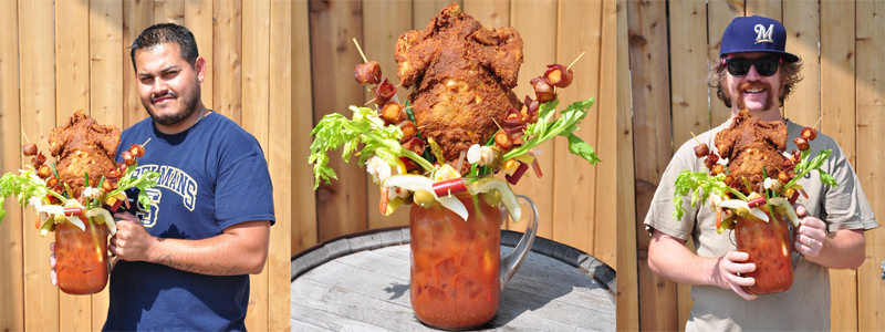 Who Wants A Fried Chicken Topped Bloody Mary?