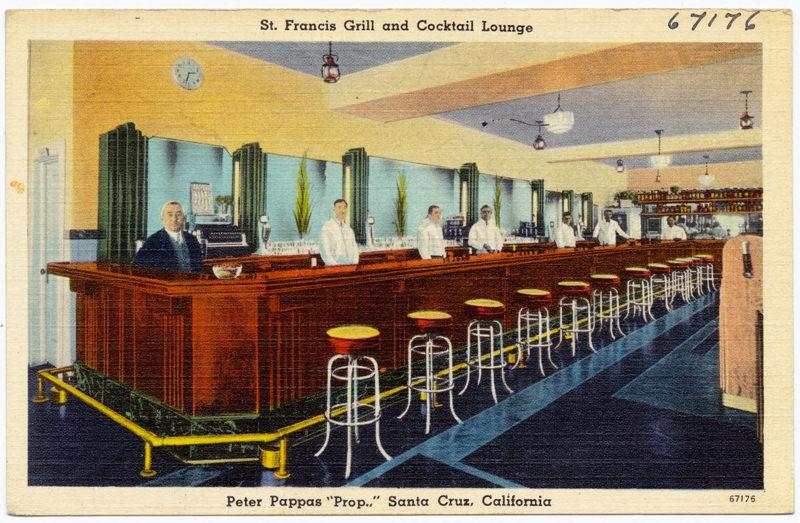 St. Francis Grill and Cocktail Lounge - Santa Cruz, California