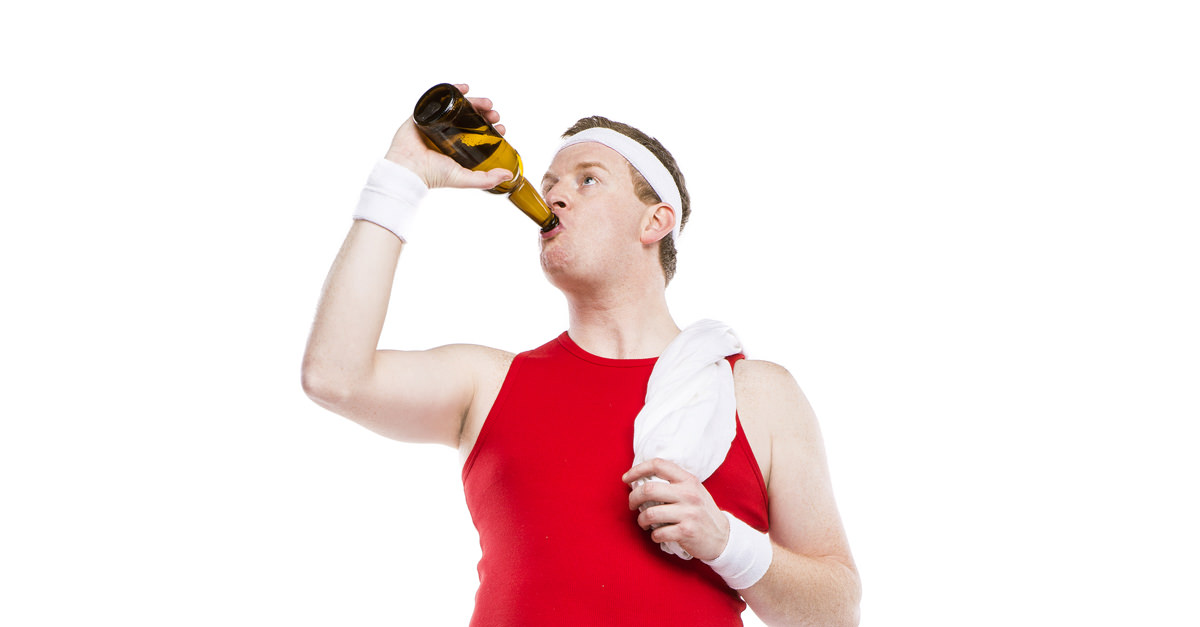 Image result for beer and workout