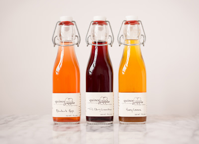 Quince and Apple Cocktail Syrups