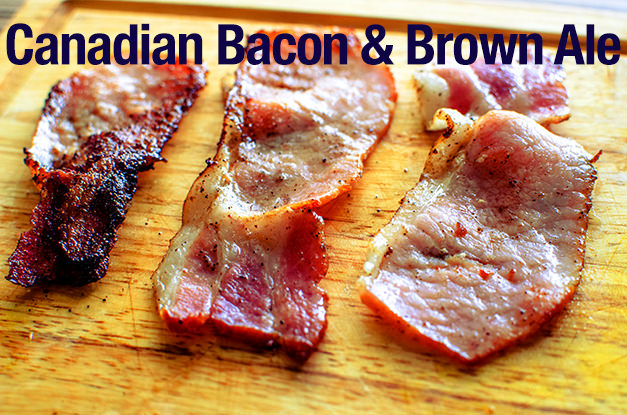 Pair Canadian bacon and brown ale