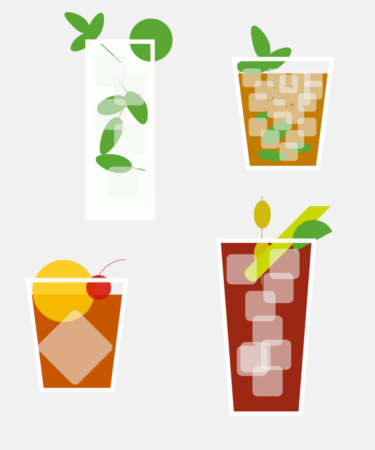 8 Surprisingly Healthy Cocktail Recipes: INFOGRAPHIC