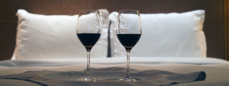 Wine As A Bedtime Snack Helps With Weight Loss