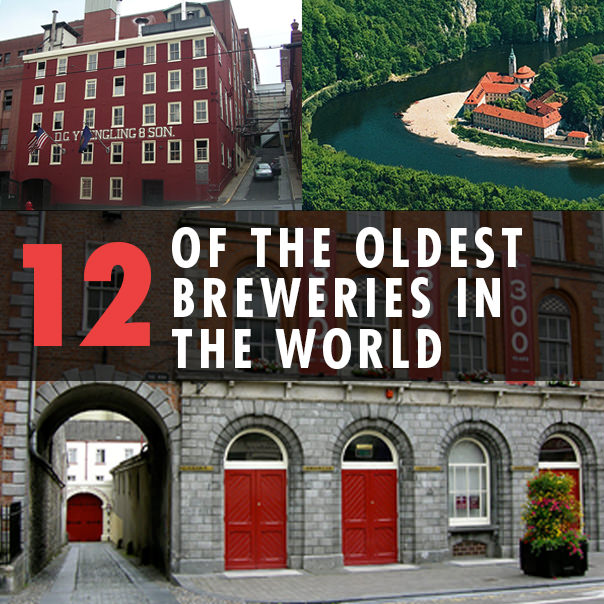 12 Of The Oldest Breweries In The World