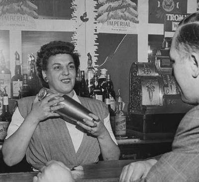 Bessie the Bartender started a female bartending revolution