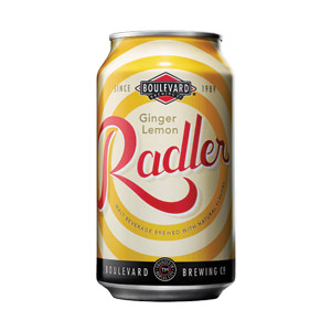 Try Boulevard Brewing's Ginger-Lemon radler