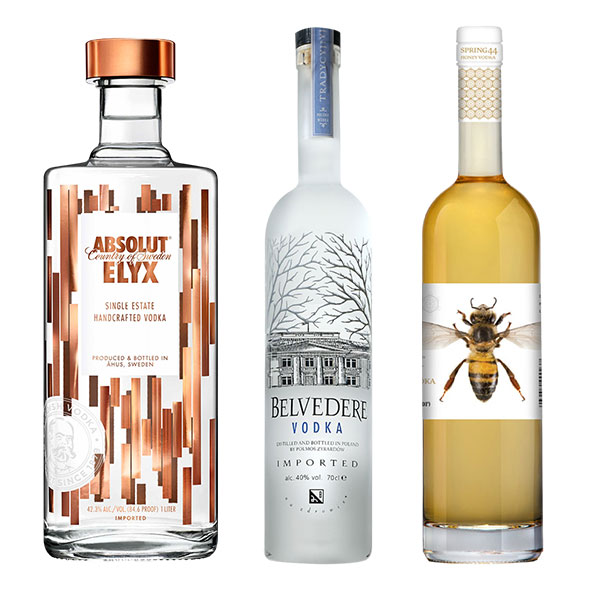 Check out these amazing vodkas