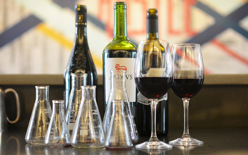 This is how to make your own Bordeaux style red wine blend