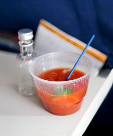 This Is Why The Bloody Mary Is The Quintessential Airport Drink