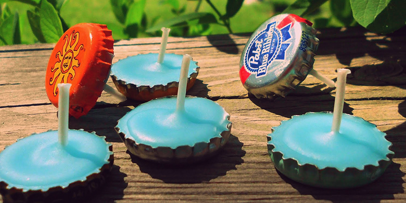 Make these awesome crafts with leftover beer bottles