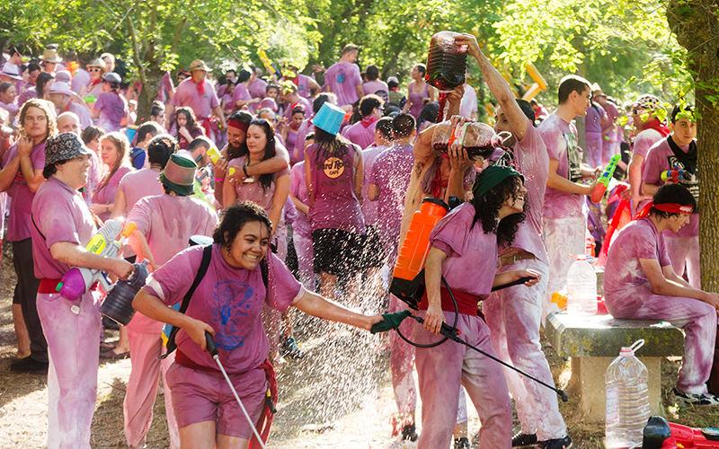 Join The Wine Fight At The La Batalla del Vino de Haro