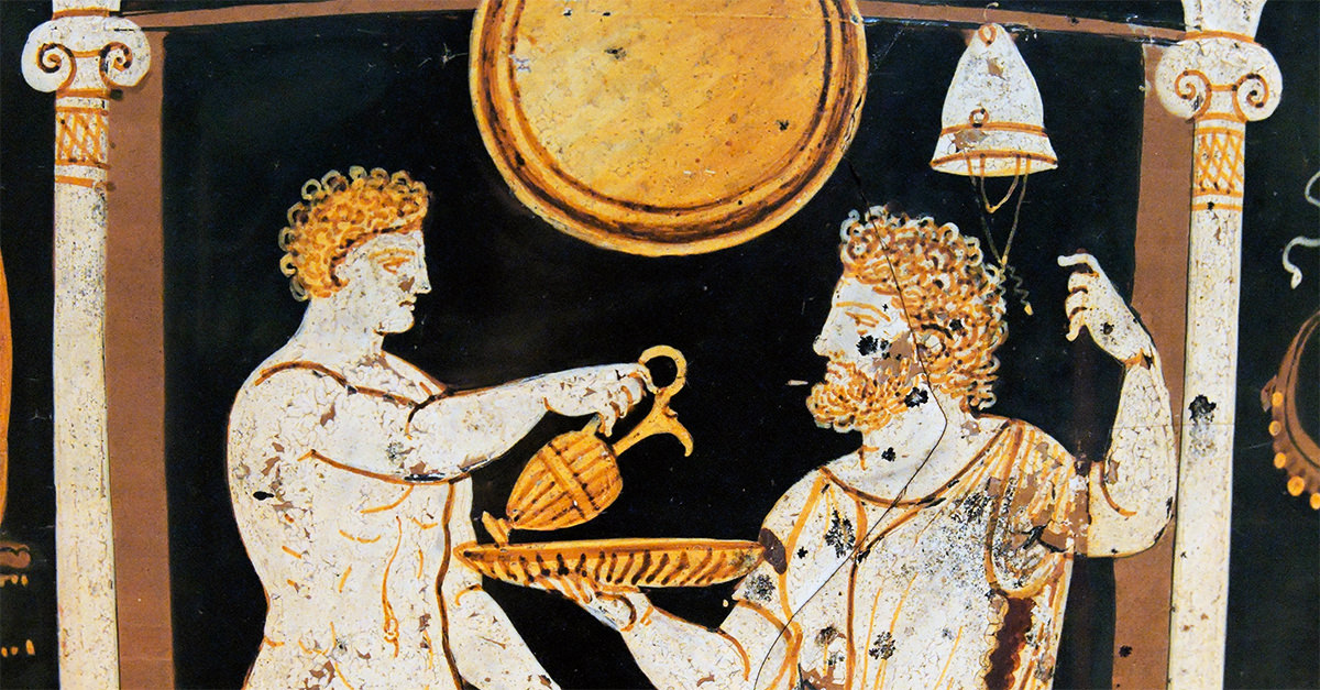 libations and the ancient history of pouring one out