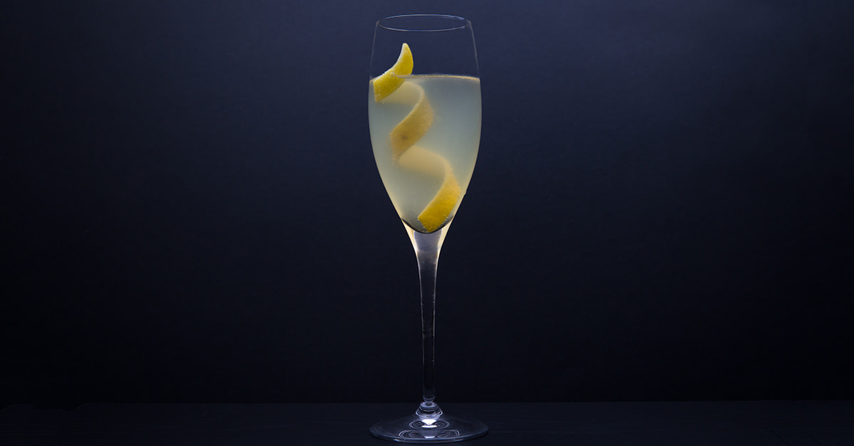 This French 75 Cocktail is a sparkling wine cocktail to make year-round
