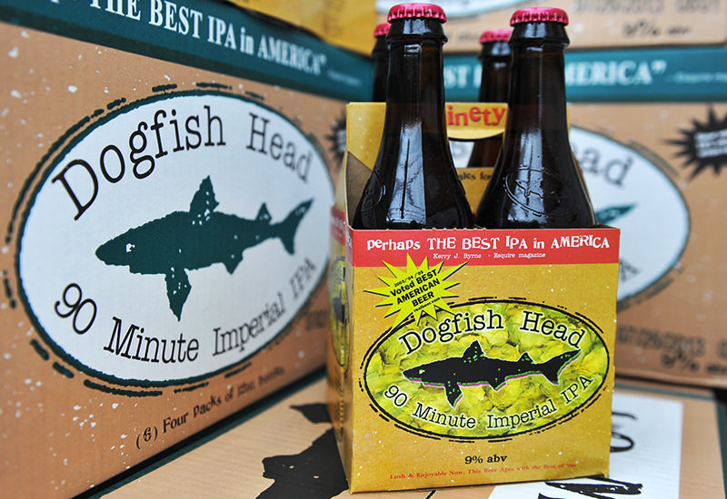 Dogfish Head 90 Minute IPA's Current Packaging