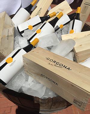 Bottles Of Gorgona Wine
