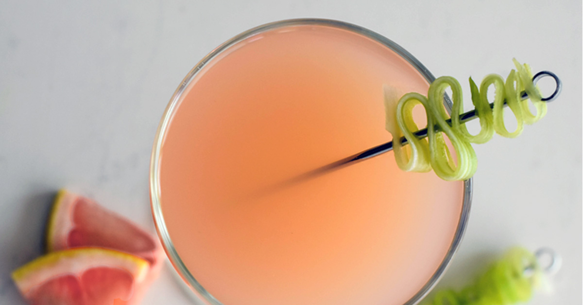 Grapefruit Gin Martini [Recipe]