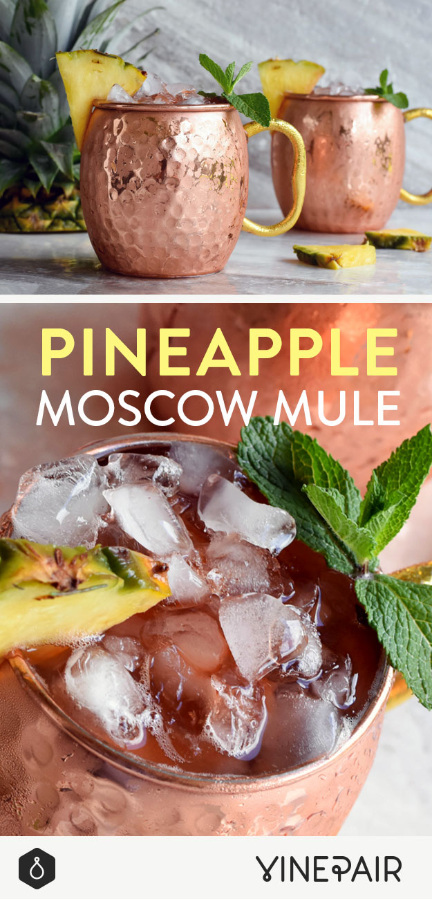 Pineapple Moscow Mule Recipe