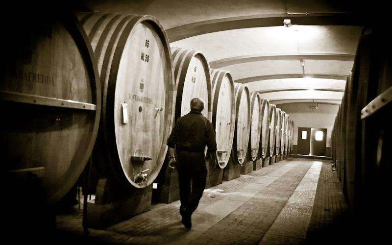 Barolo must be aged least 38 months, 18 of which in wood barrels