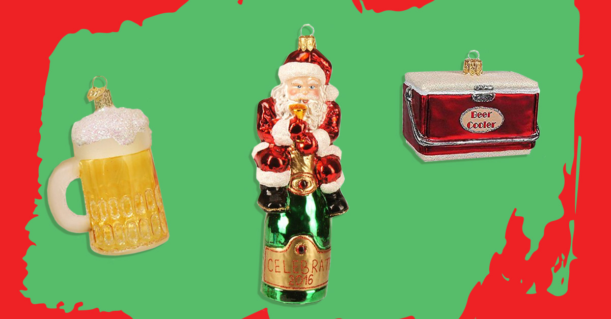 The 11 Best Alcohol-Themed Christmas Tree Ornaments