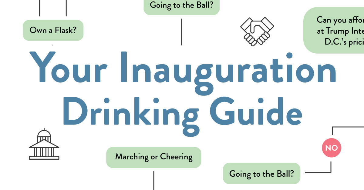 Your Inauguration Day Drinking Guide [Infographic]