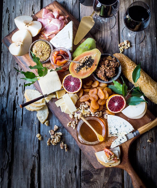 We're Obsessed With These 15 Swoon-Worthy Cheese & Charcuterie Boards Blood Orange Cheese Guava Apples