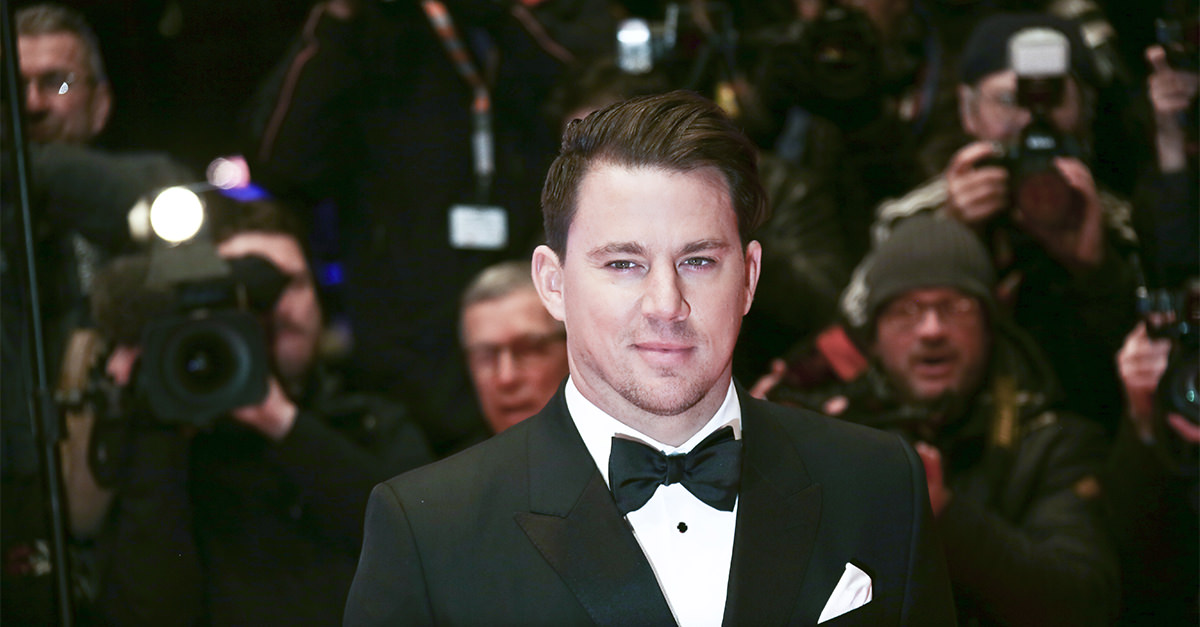Channing Tatum's Vodka is Excessively Stripped Down