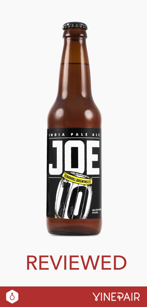 Review: 10 Barrel Brewing Joe IPA