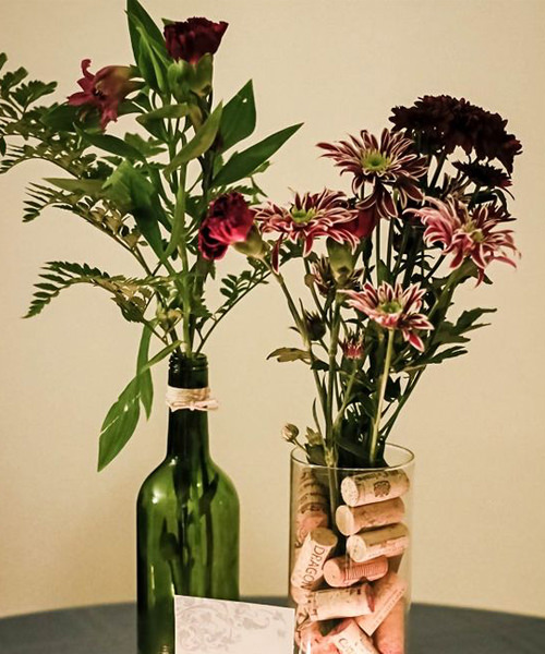 10 Wine Bottle Centerpieces For Your Wedding VinePair