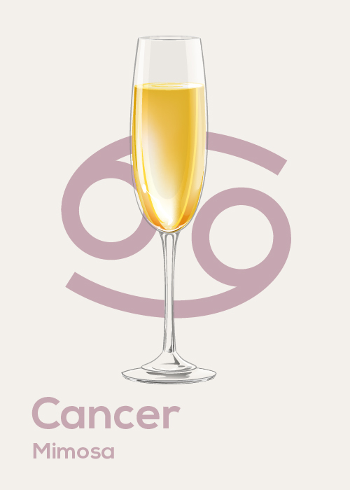 Here's Your Drink Pairing for Your April Horoscope: Cancer