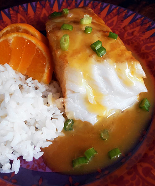 chilean sea bass with white wine mango reduction sauce recipe