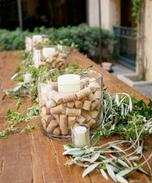 10 Simple Ways to Incorporate Cork Crafts Into Your Wedding Reception