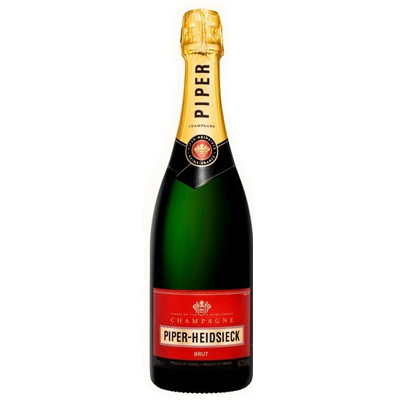 The 10 Best Selling Champagne Brands In the World - Piper Heidsieck