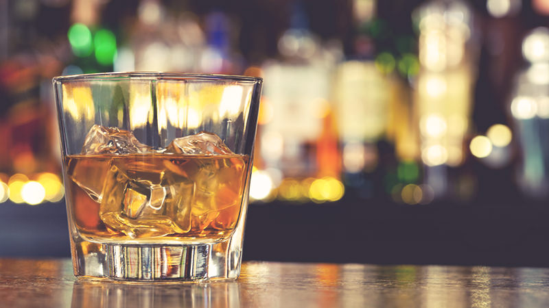 how to drink scotch rocks
