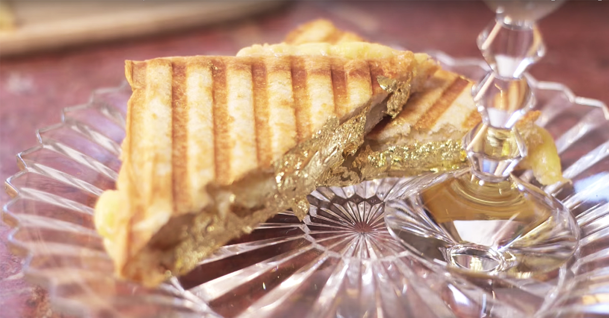 This Is The World's Most Expensive Grilled Cheese
