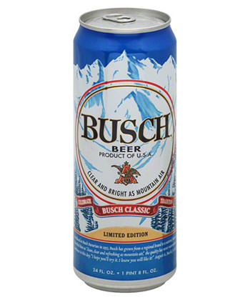 busch cheap beer ranking