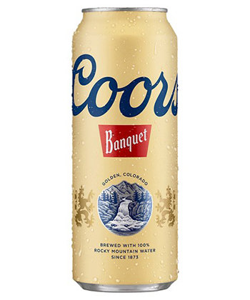 coors banquet cheap beer ranking