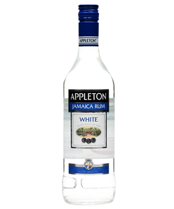 Appleton White is one of the five best rums for mojitos