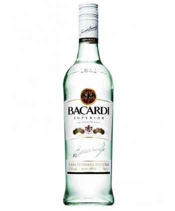 Bacardi Silver is one of the five best rums for mojitos
