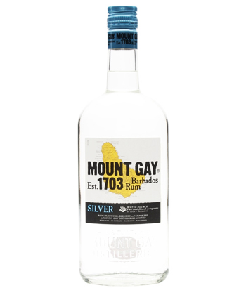 Mount Gay Eclips is one of the five best rums for mojitos