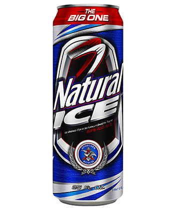 natural ice cheap beer ranking