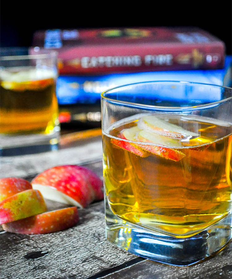 this girl on fire is one of the best fireball whiskey cocktails