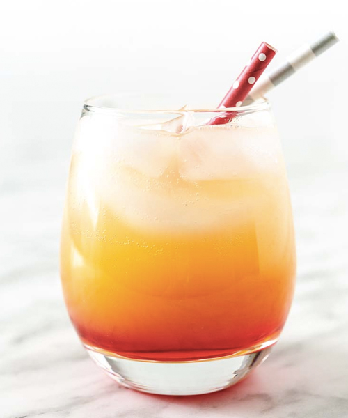 The Sparkling Campari Orange Cocktail is the perfect Campari cocktail for branching out from Negronis