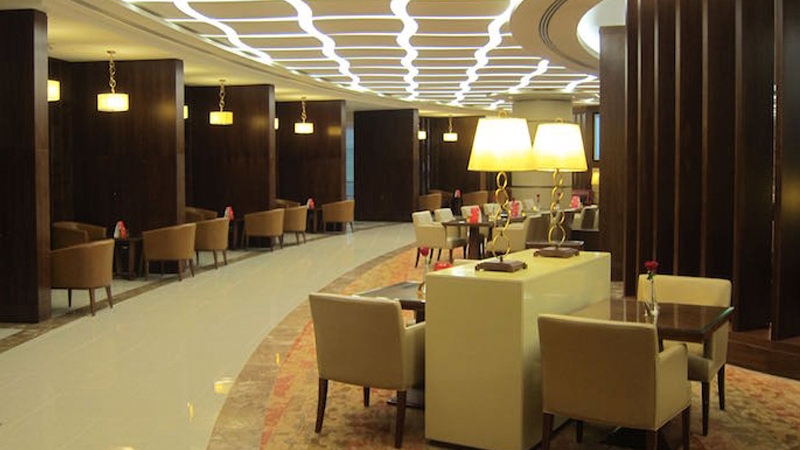 Emirates' First Class Lounge in Dubai is one of the best airport lounges in the entire world